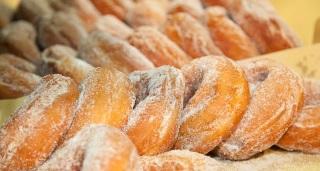 Ciambelle di patate rosse - Colfiorito